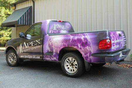 vehicle wraps design_truck